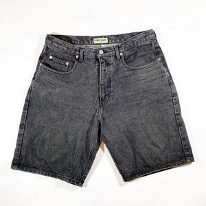 Men's vintage guess jean shorts